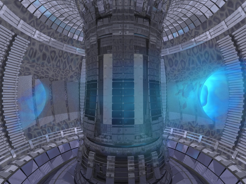 Picture of fusion reactor